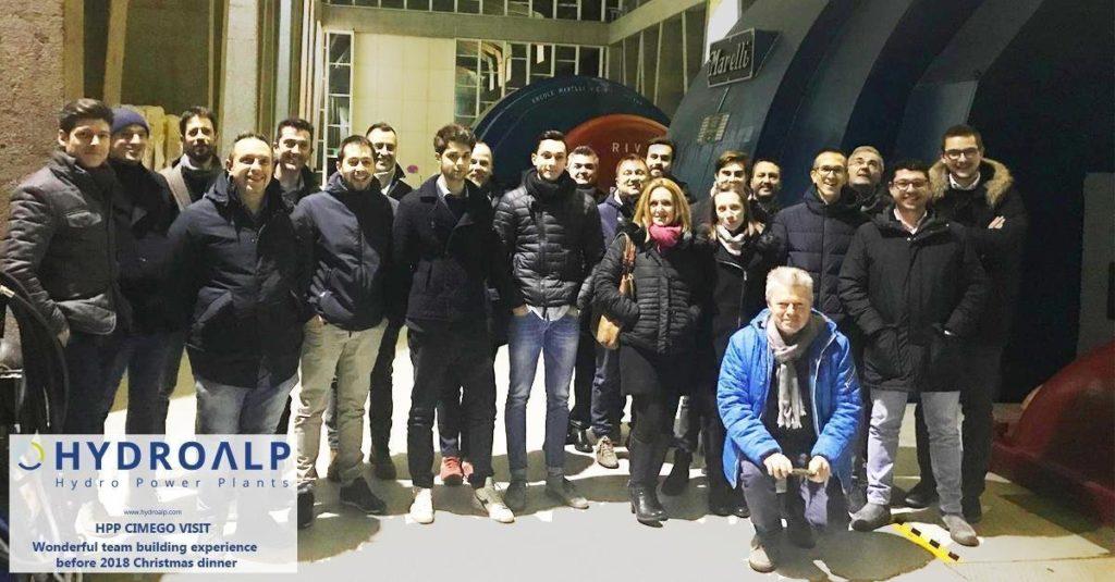 HPP CIMEGO visit for HYDROALP